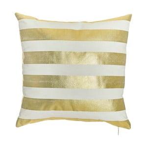 Povlak na polštář Apolena Gold Stripes, 45x45cm