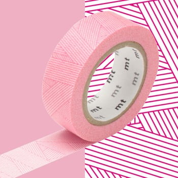 Bandă decorativă Washi MT Masking Tape Idelle, rolă 10 m