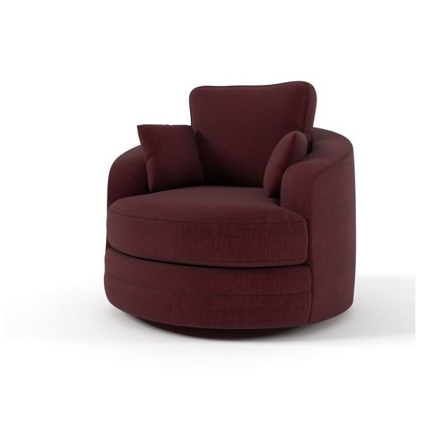 Křeslo Swivel Red
