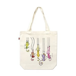 Plátěná taška Kočičí drápky
