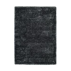 Antracitově šedý koberec Universal Aloe Liso, 200 x 290 cm