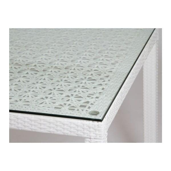 Stůl Toledo White, 160x90 cm