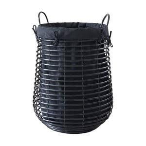 Černý koš na prádlo Aquanova Gisla, 105 l