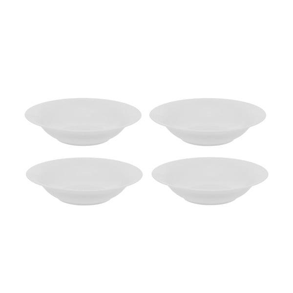 Sada 4 porcelánových hlubokých talířů Sola Chic Lunasol, 23cm