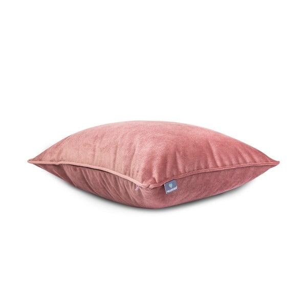 Față de pernă roz WeLoveBeds Heard Wood, 40 x 60 cm