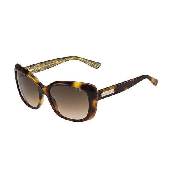 Sluneční brýle Jimmy Choo Kalia Brown