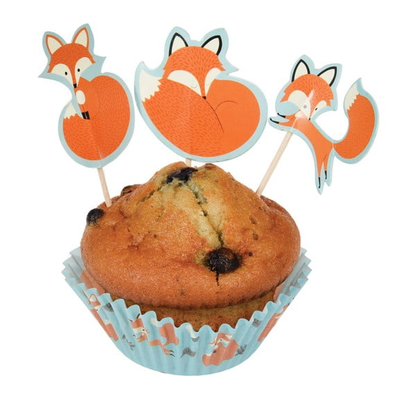 Set na pečení muffinů Rex London Rusty The Fox