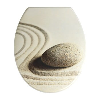 Capac WC cu închidere lentă Wenko Sabbia, 44,5 x 37,5 cm imagine