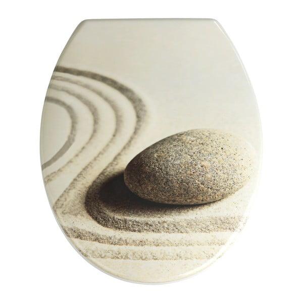 WC sedátko se snadným zavíráním Wenko Sabbia, 44,5 x 37,5 cm