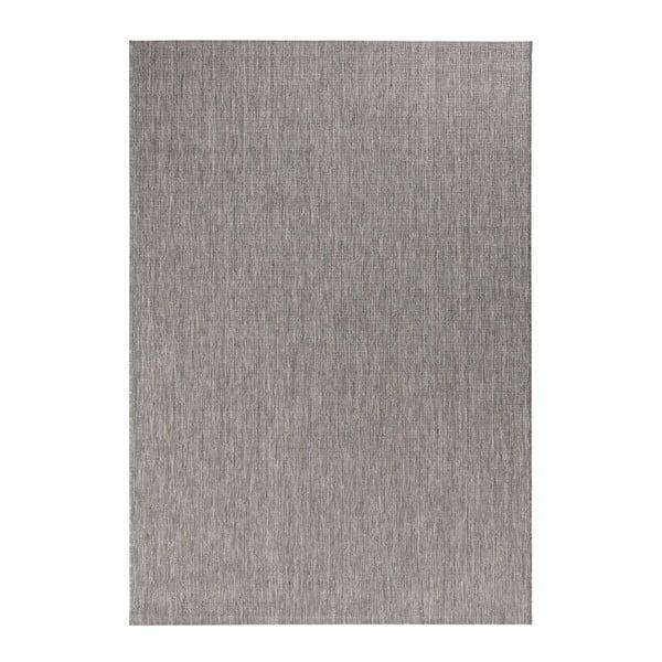 Sivý koberec vhodný aj do exteriéru Match, 120×170 cm
