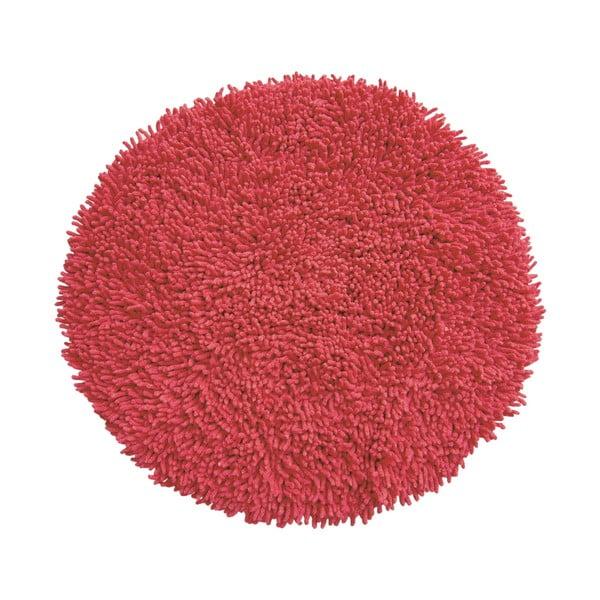 Koupelnová předložka Shaggy Red, 60 cm