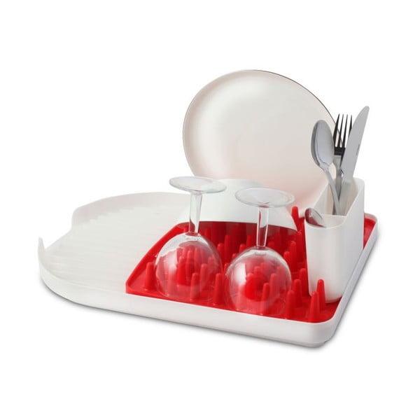 Suport veselă Vialli Design Livio Colori, roșu - alb