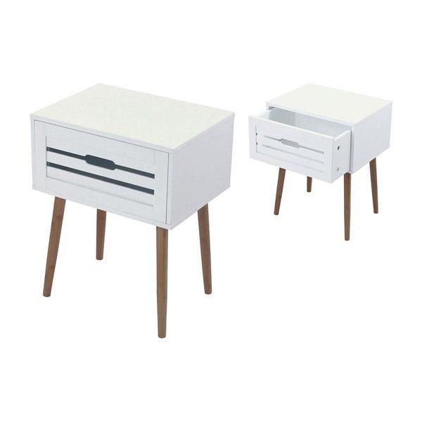 Noční stolek White Bamboo