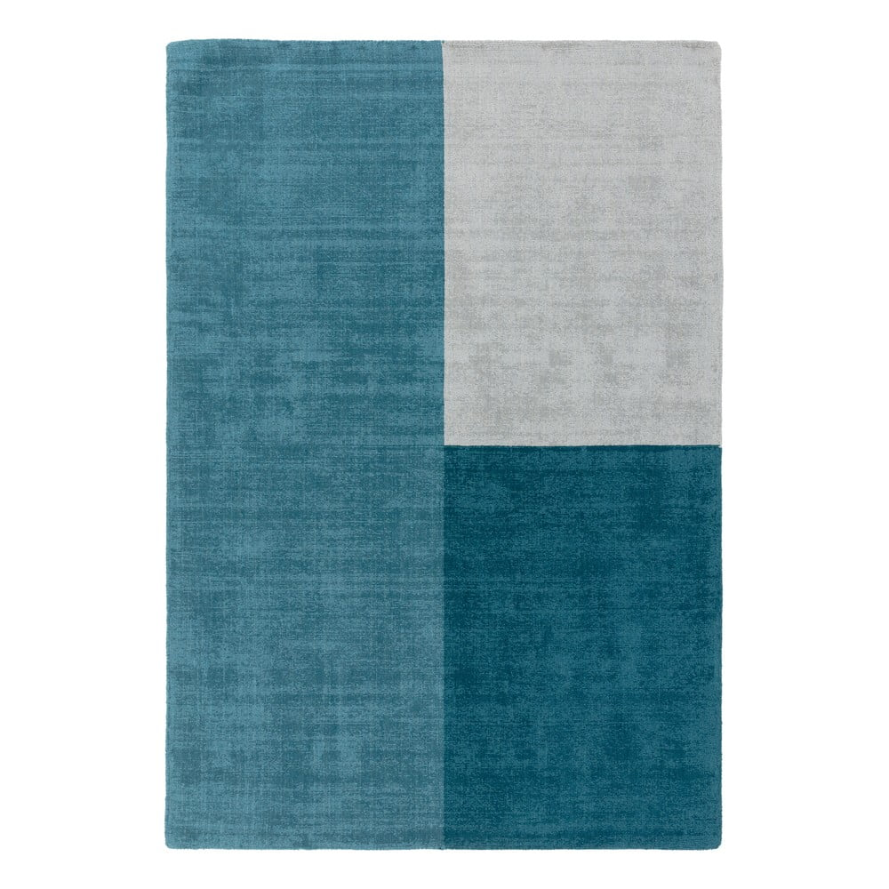 Modrý koberec Asiatic Carpets Blox, 160 x 230 cm