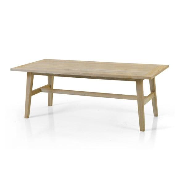 Zahradní stolek v přírodní barvě Brafab Vidos, 130x70cm