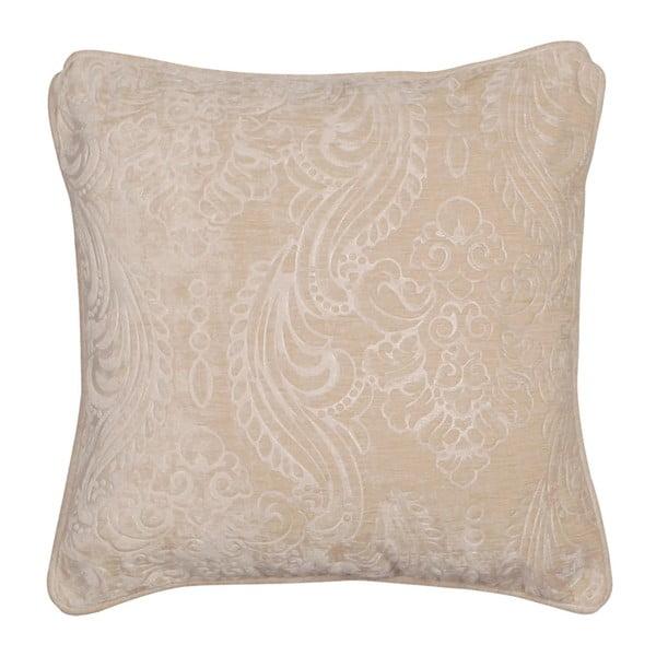 Krémový povlak na polštář Kate Louise Exclusive Ranejo, 45 x 45 cm