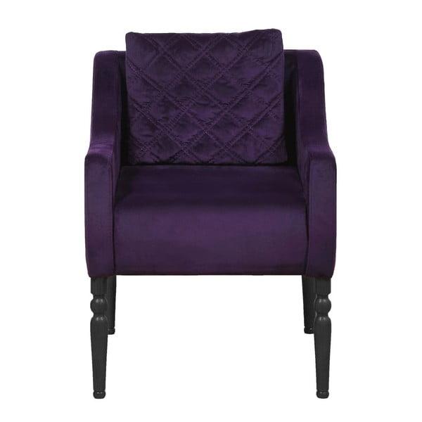 Křeslo Wesley Purple