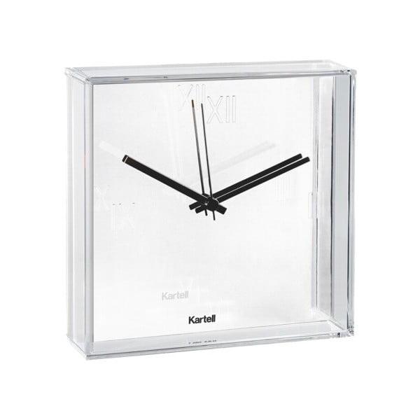 Bílé nástěnné hodiny Kartell Tic Tac