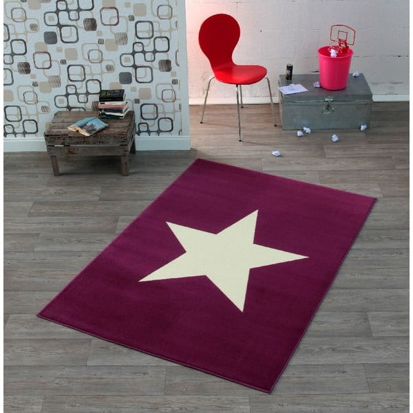 Dětský vínový koberec Hanse HomeStar, 140x200cm