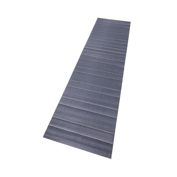 Koberec vhodný i na ven Sunshine 80x300 cm, modrý