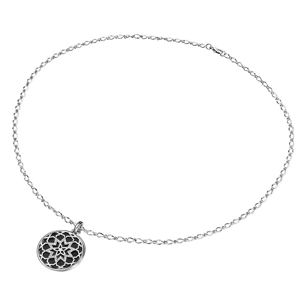 Dámský náhrdelník stříbrné barvy Runaway Church