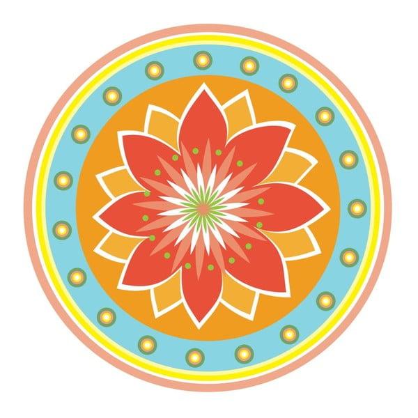Samolepky Flower Mandala Colourful
