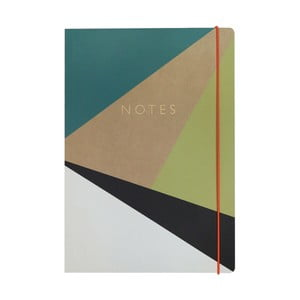Zápisník A4 Portico Designs Trigonometry, 160stránek