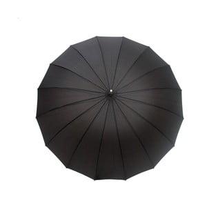 Umbrelă anti-vânt Ambiance Gentleman, ⌀ 113 cm, negru