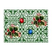 Sada 2 obdélníkových prostírání Crido Consulting Festive Mosaic, 40 x 30 cm