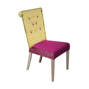 Židle Romantic Provence Blue Yellow/Fuchsia