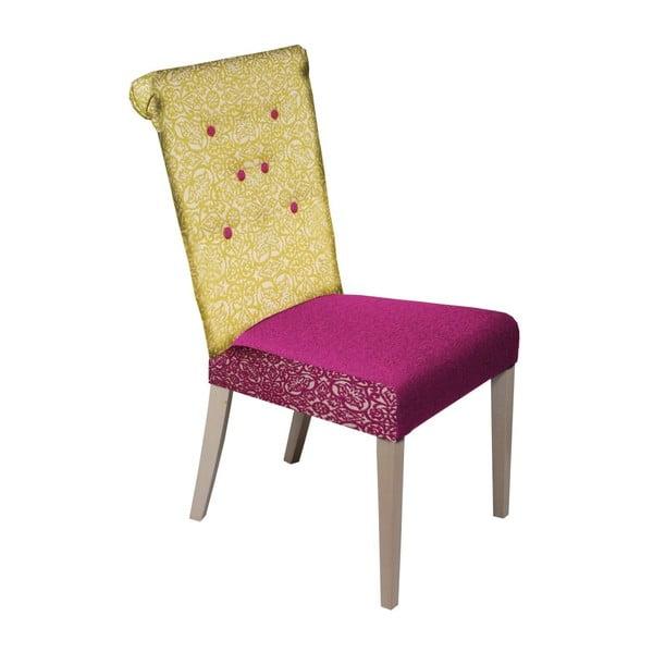 Židle Romantic Provence Blue Yellow/Fuchsia