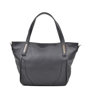 Černá kožená kabelka Luisa Vannini Aronia