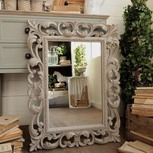 Zrcadlo Foggia Grey Antique, 65 x 85 cm