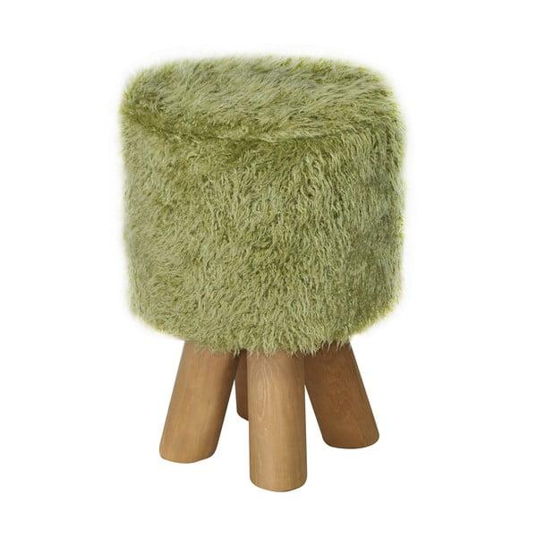 Stolička Kivi Futro Green