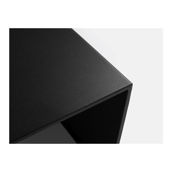 Černý konferenční stolek Custom Form 2Wall, délka100cm