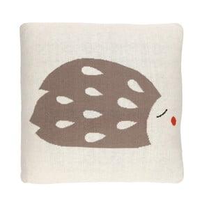 Oboustranný polštář Art For Kids Hedgehog, 35x35cm