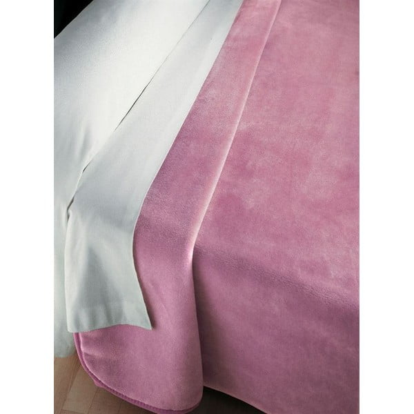 Přehoz Piel růžový, 160x240 cm