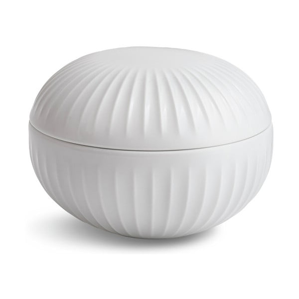 Biały pojemnik Kähler Design Hammershoi