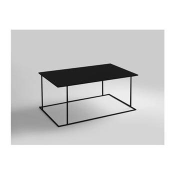 Masă de cafea Custom Form Walt, lungime 100 cm, negru