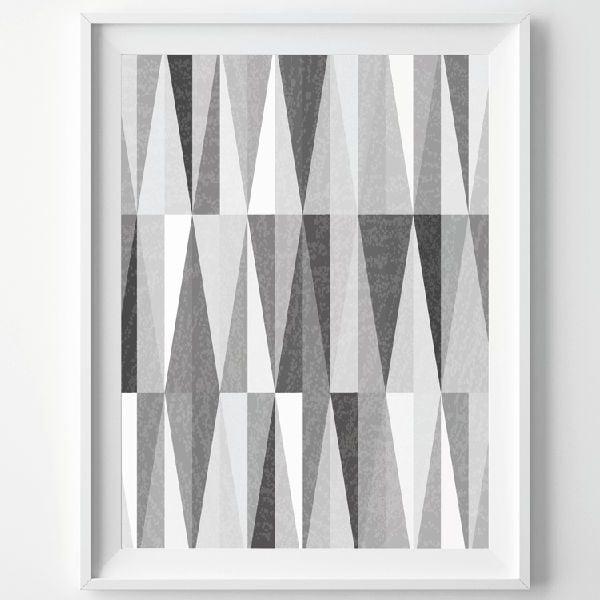Plakát Monochrome Grey, A3