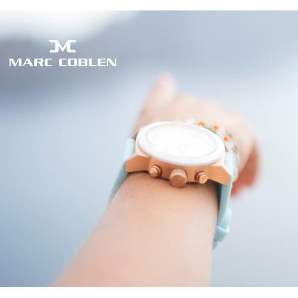 Dámské hodinky Marc Coblen s páskem a kroužkem navíc P99