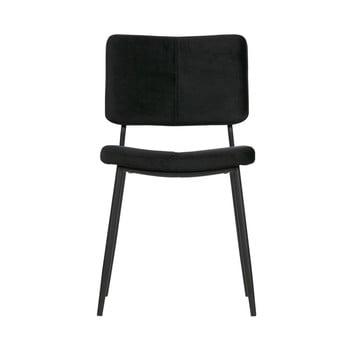 Set 2 scaune WOOOD Kaat , negru
