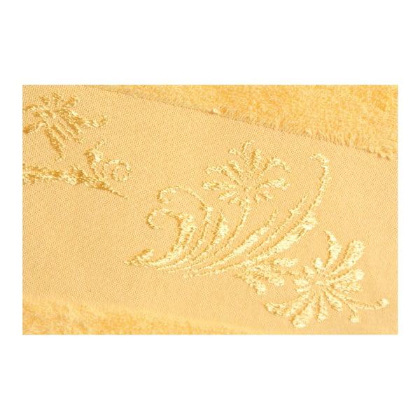 Sada 2 osušek Supima Yellow, 70x140 cm