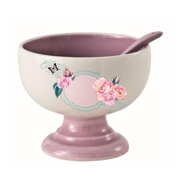 Snídaňový pohár s lžící Fiore