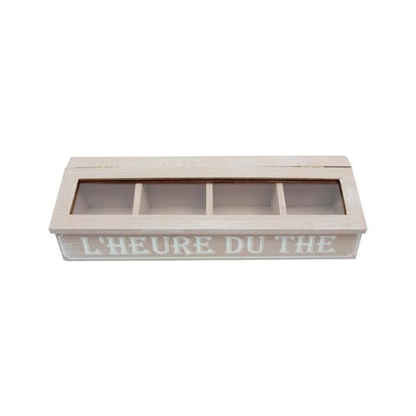 Dřevěná krabice Heure
