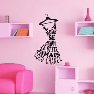 Samolepka Ambiance Coco Chanel Quote