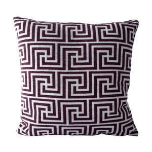 Polštář Labyrinth, fialový