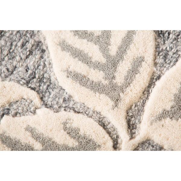 Vlněný koberec Loxley 120x170 cm, šedý