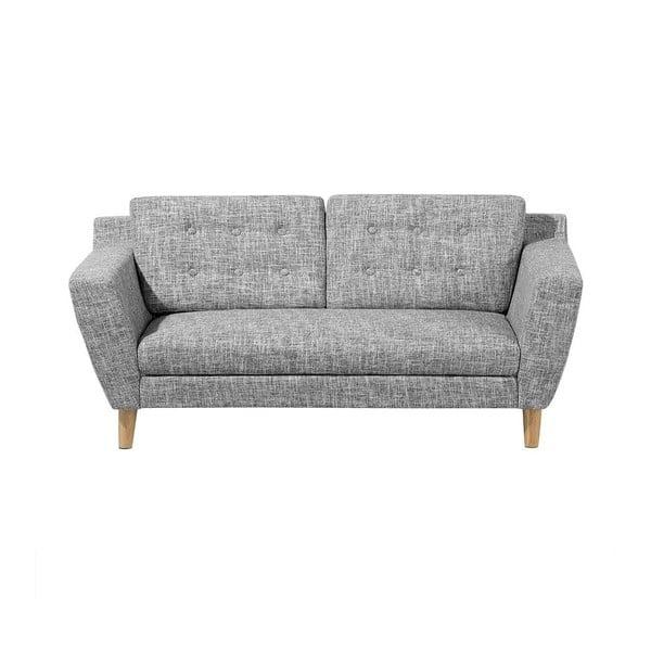 Canapea cu 3 locuri Monobeli Daniel, gri