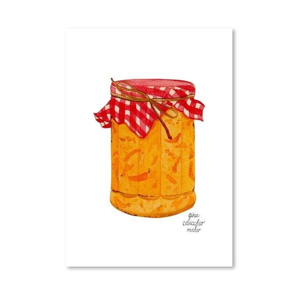 Autorský plakát Marmalade, 30x42 cm